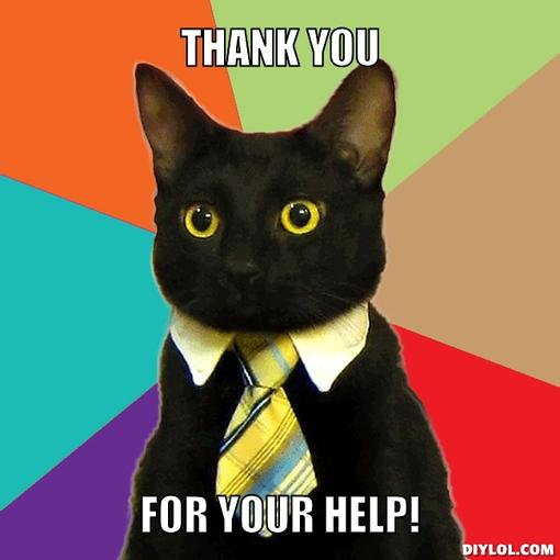 business-cat-meme-generator-thank-you-for-your-help-33cd86